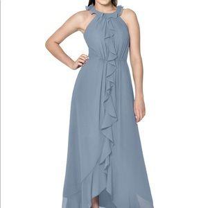 Azazie Jade Bridesmaid Dress (Dusty Blue)